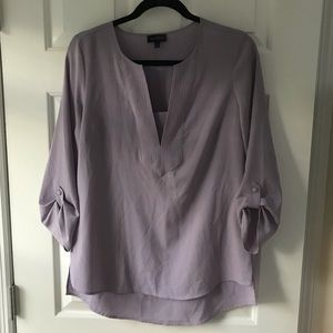 The Limited purple blouse with 3/4 length sleeves!